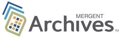 mergent archives