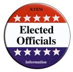 elected officials button